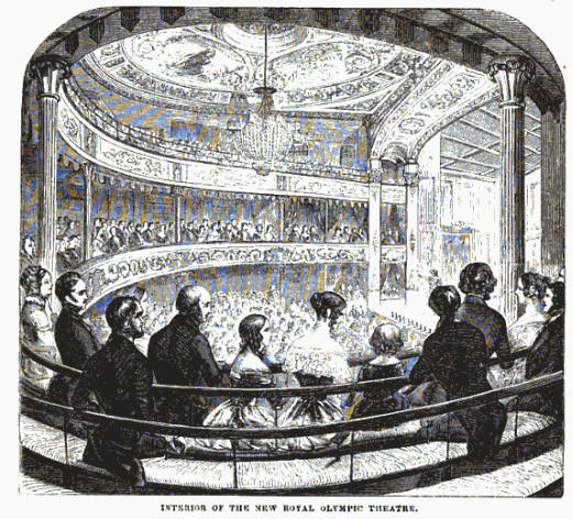 Victorian London Entertainment Theatre Theatres And