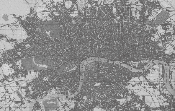 Map Over London.Victorian London London In The 1850s Interactive Map